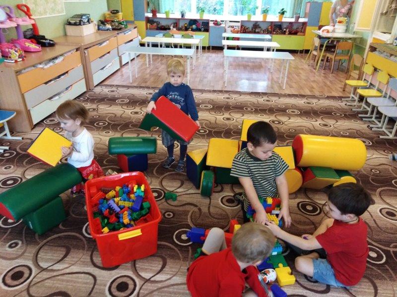 Предметно— развивающая среда групповых комнат
